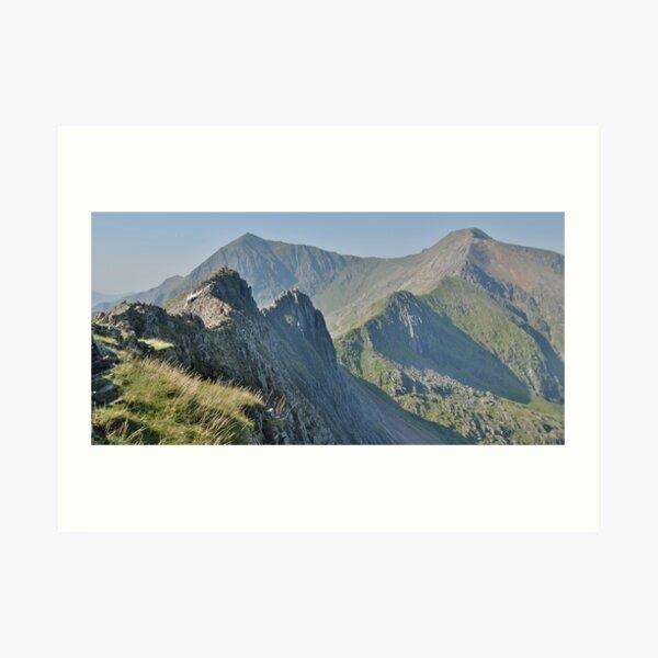 Snowdonia: Crib Goch Art Print