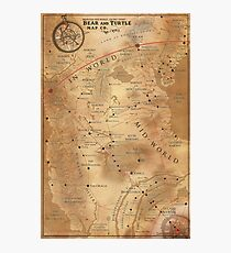 The Dark Tower - Mid-World Map Photographic Print
