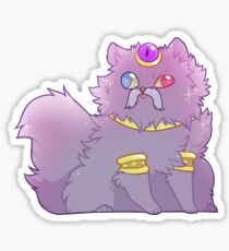 The King Cat Sticker