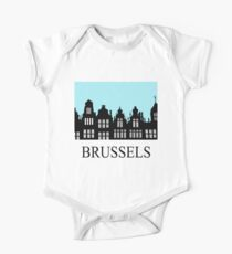 Brussels Grand Place / Grote Markt One Piece - Short Sleeve