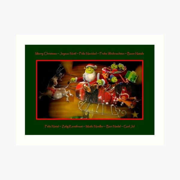 Merry Christmas To All !!! Art Print