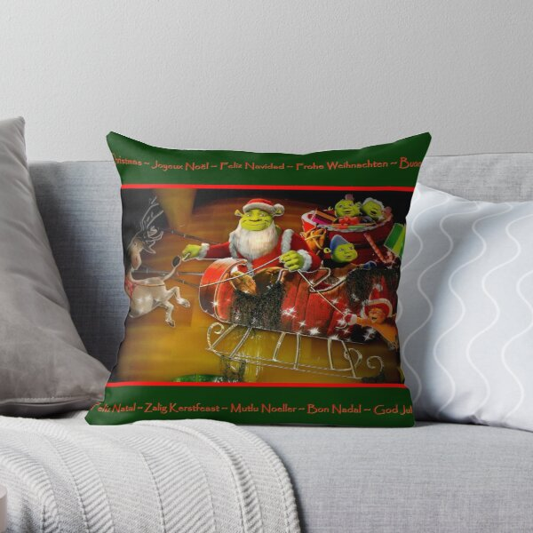 Merry Christmas To All !!! Throw Pillow