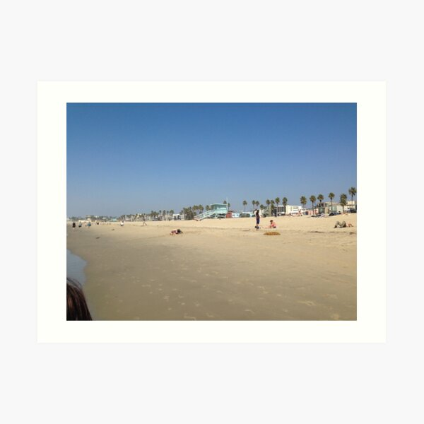 Venice Beach, Los Angeles USA Kunstdruck