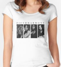 FIFTH HARMONY Women's Fitted Scoop T-Shirt