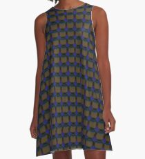 brightening the cubic rounds A-Line Dress