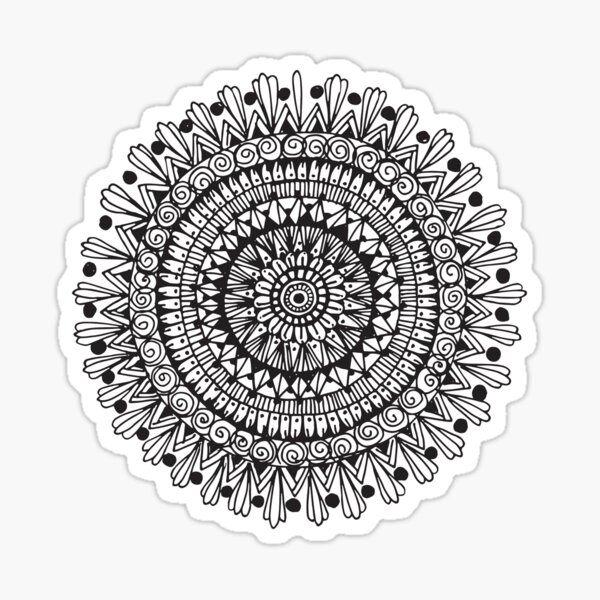 Mandala #6 Sticker