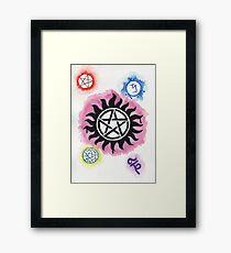 Supernatural Signs Framed Print