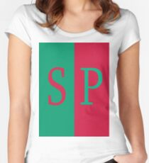 Starboard port Women's Fitted Scoop T-Shirt