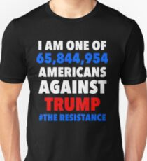 I am one of 65, 844, 954 Americans Against Trump T-Shirt