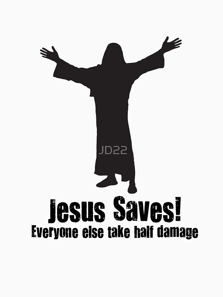 Jesus saves DnD by JD22