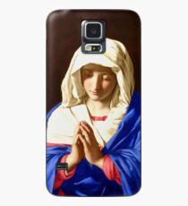 La Vierge en prière Coque et skin Samsung Galaxy