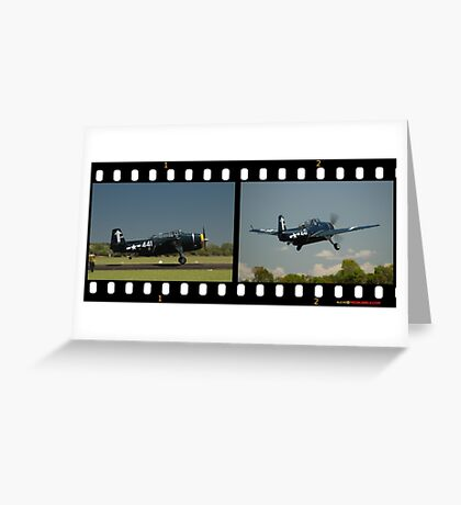Avenger Take-off @ Evans Head Airshow 2010 Greeting Card