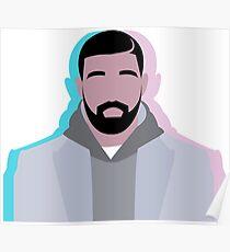 Minimalist Drake Poster