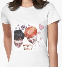 J-Hope and Jimin Laughing Heads T-Shirt