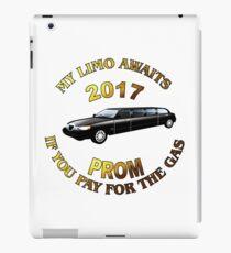 Class Of 2017 Prom My Limo Awaits iPad Case/Skin