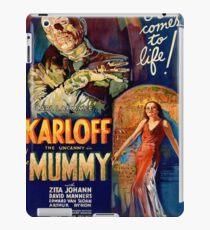 Vintage poster - The Mummy iPad Case/Skin