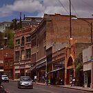 Main Street - Bisbee Az. by Ann  Warrenton