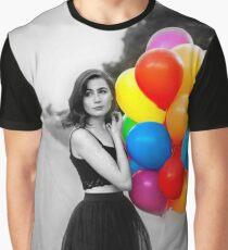 dodie clark rainbow balloons  Graphic T-Shirt
