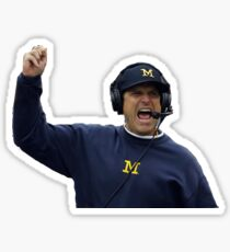 Jim Harbaugh Sticker