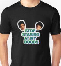 Stop Staring at My Boobs T-Shirt
