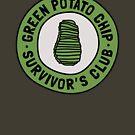 Green Potato Chip Survivor's Club by Expandable Studios