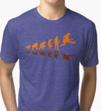 Guitar Evolution Jump Tri-blend T-Shirt