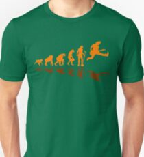 Guitar Evolution Jump Unisex T-Shirt