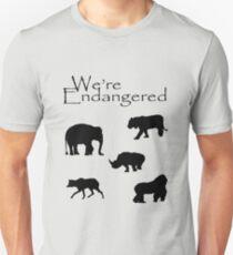 We're Endangered Unisex T-Shirt
