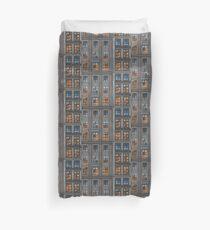 Mosaic of City Duvet Cover