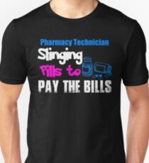 Medical Pharmacy Worker Technician Tee coffee cup  Unisex T-Shirt
