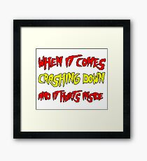 Real American Framed Print