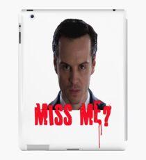 Sherlock ~ Moriarty: Miss Me? iPad Case/Skin