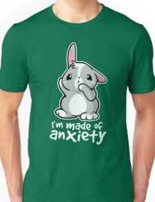 Bunny anxiety Unisex T-Shirt