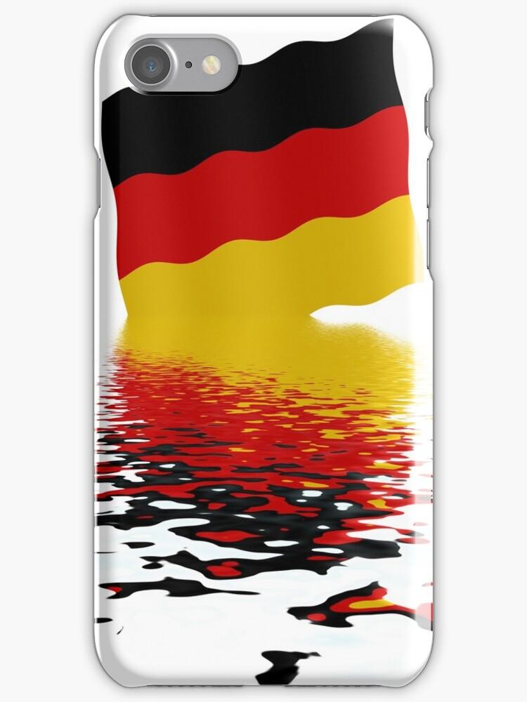 German flag by stuwdamdorp