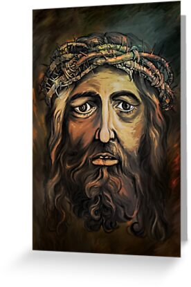 Christ with thorn crown. by andy551