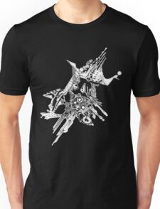 Along Those Lines - Pen & Ink Illustration Unisex T-Shirt
