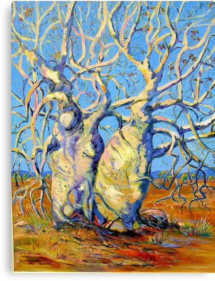 Kimberley Giants, Boab Trees by Virginia McGowan