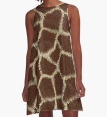 Giraffe Skin print A-Line Dress