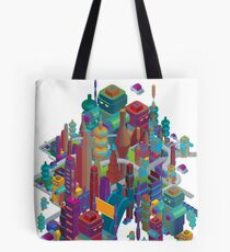 the color city Tote Bag