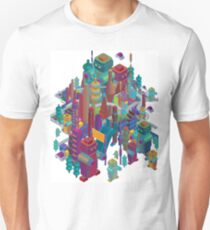 the color city Unisex T-Shirt