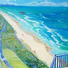 From Surfers Paradise the Gold Coast Queensland from High Surf by Virginia McGowan