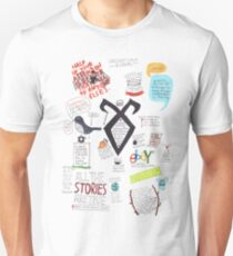 The Mortal Instruments collage Unisex T-Shirt
