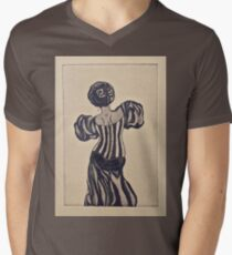 Chanson Mens V-Neck T-Shirt