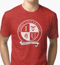 Idris University (dark-based) Tri-blend T-Shirt
