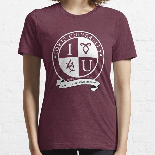 Idris University (dark-based) Essential T-Shirt