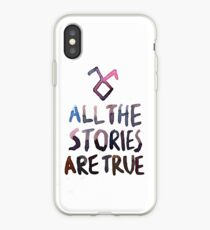 All the stories are true (watercolor) iPhone Case