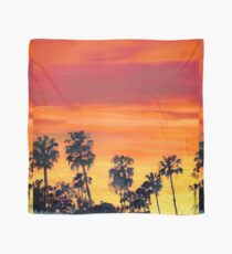 Riccoboni - Red Sunset In San Diego Picture Scarf