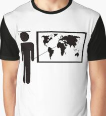 Geography teacher Graphic T-Shirt