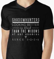 "The Mortal Instruments: ""Shadowhunters"" Men's V-Neck T-Shirt"