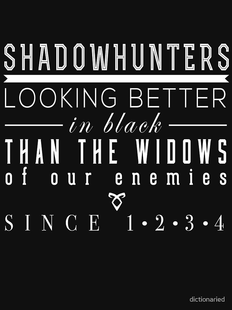 "The Mortal Instruments: ""Shadowhunters"" | Women's T-Shirt"